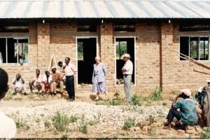 Skolebyggeri i Uganda
